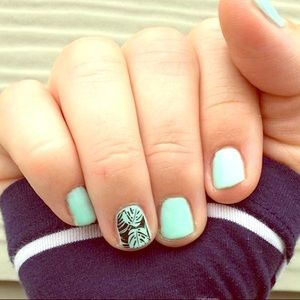 Jamberry Nail Wraps: 1 FULL SHEET Tropic Nights